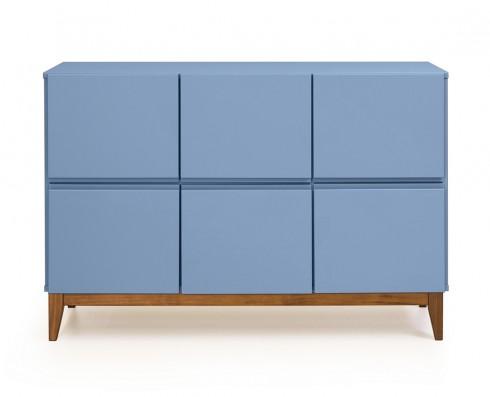 Buffet 6 Portas Home  -  Azul Claro