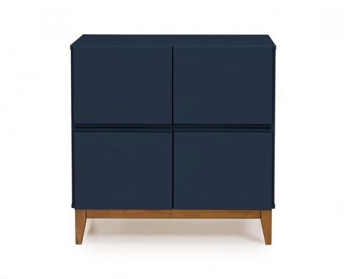 Buffet 4 Portas Home  -  Azul Escuro