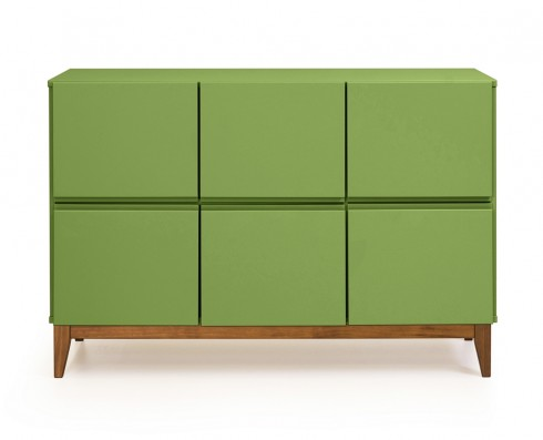 Buffet 6 Portas Home  -  Verde Greenery