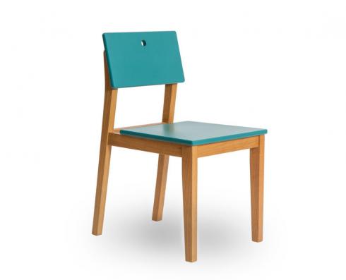 Cadeira Flip  -  Verde | Madeira Clara
