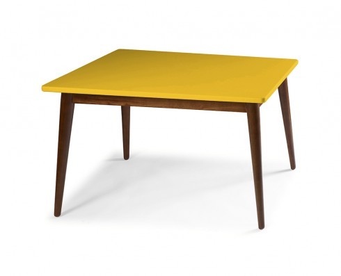 Mesa de Jantar Novita  140 x 90  -  Amarela