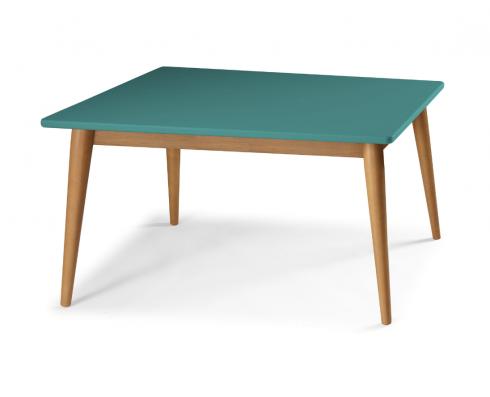 Mesa de Jantar Novita  160 x 90  -  Verde | Madeira Clara