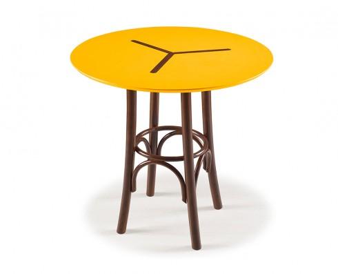 Mesa Bistrô Opzione Baixa -  Amarela