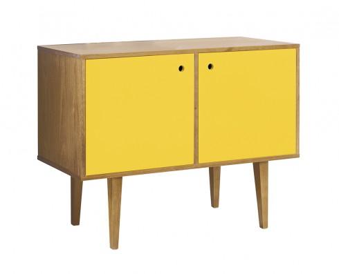 Buffet Vintage 2 Portas  -  Amarelo