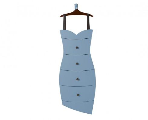 Cômoda Dress  -  Azul Claro