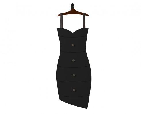 Cômoda Dress  -  Preta