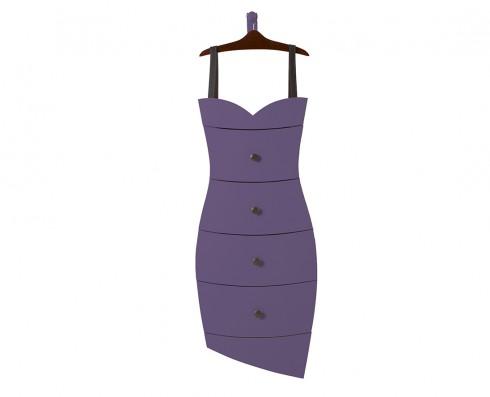 Cômoda Dress  -  Roxa