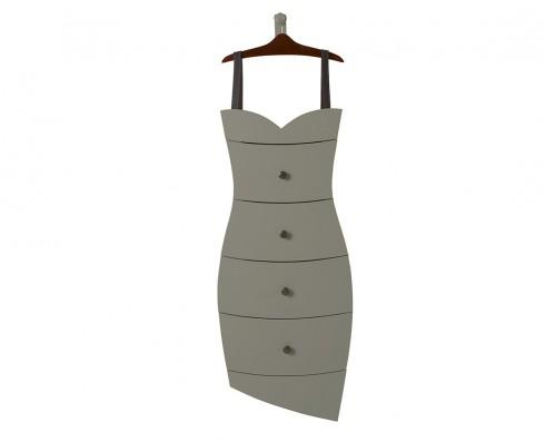 Cômoda Dress  -  Cinza