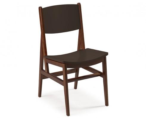 Cadeira Dumon -  Marrom Escuro