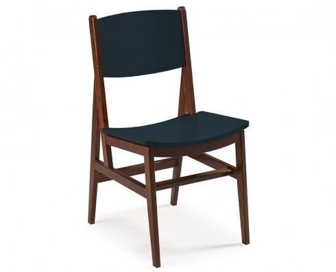 Cadeira Dumon -  Azul Escuro