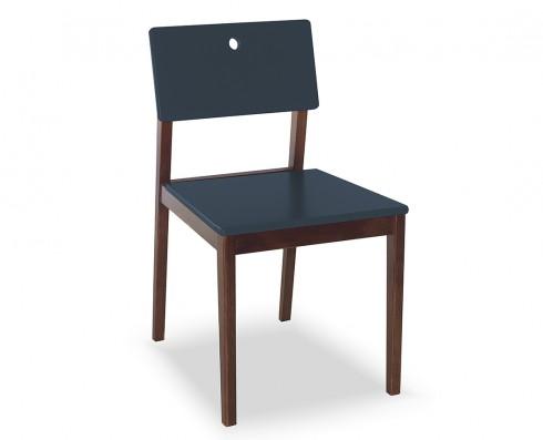 Cadeira Flip  -  Azul Escuro