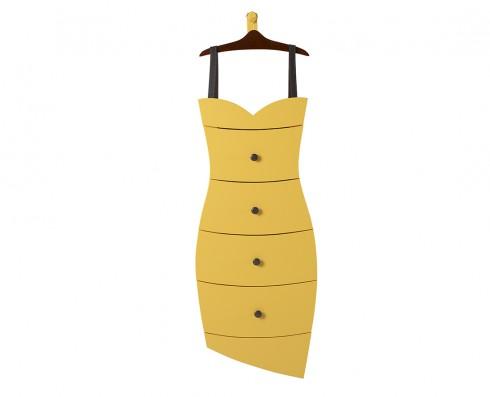 Cômoda Dress  -  Amarela