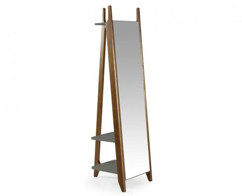 Espelho Stoka  -  Cinza