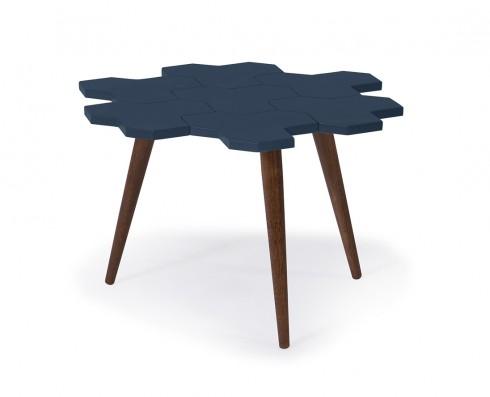 Mesa de Centro Colméia  -  Azul Escuro