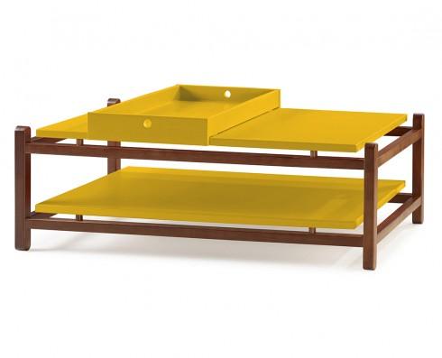 Mesa de Centro Uno  -  Amarela