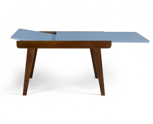 Mesa de jantar Extensível Maxi  -  Azul Claro