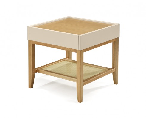 Mesa Lateral Duo  -  Nude