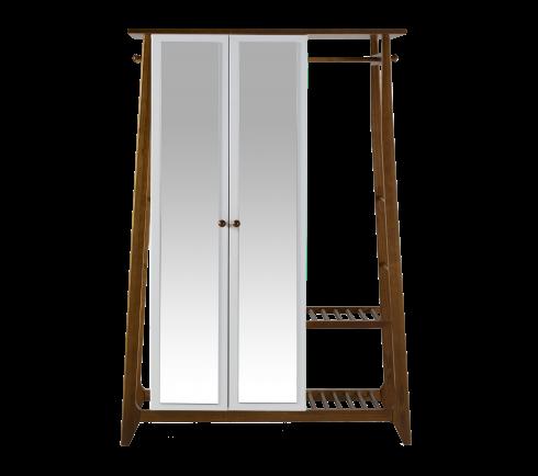 Armário Multiuso Stoka 2 portas  -  Branco